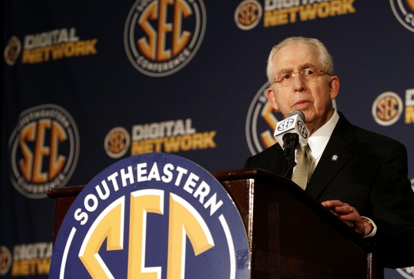 An expansive new TV contract will grow the SEC's already monumental annual financial take (AP Photo).