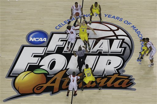 An excellent Final Four brought correspondingly strong TV ratings (AP Photo).