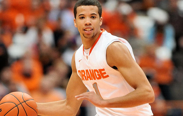 Good things seemed to happen for Syracuse last season when the ball was in Michael Carter-Williams' hands
