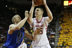 In his signature performance of 2013, Alex Len dominated Mason Plumlee during Maryland's upset of Duke