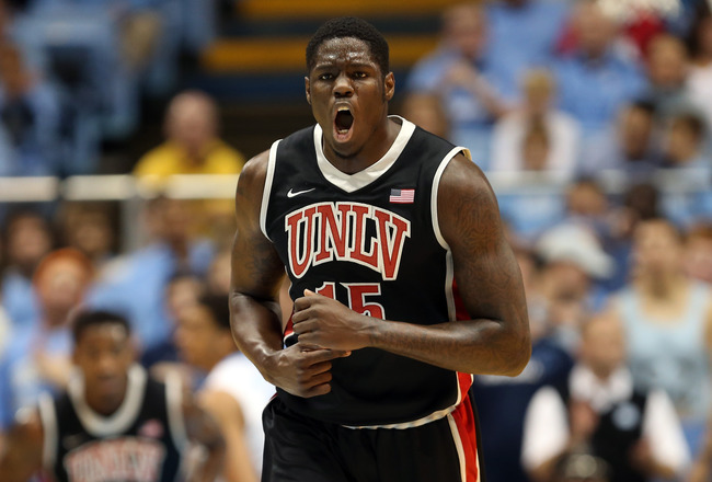 Anthony Bennett was an imposing presence on the UNLV front line last season