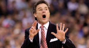 Pitino Has Louisville Easily on Top of This Group (Getty Images).