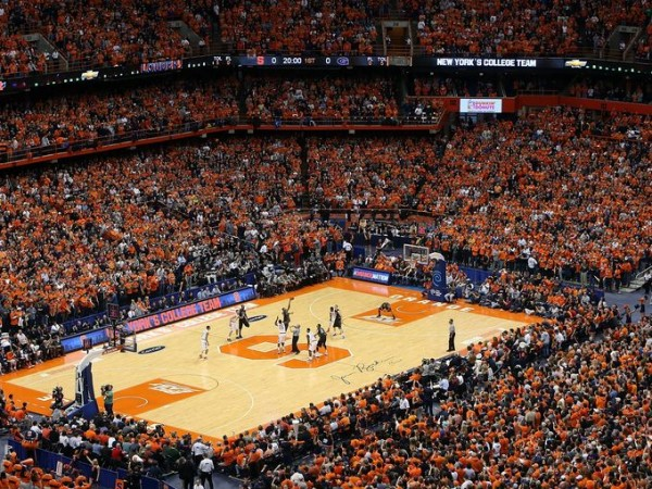 The days of saturated Orange stands and infectious gameday environments in the Carrier Dome could be numbered (Getty Images).