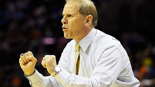 Last season's roster forced Beilein to change his traditional style (Getty).