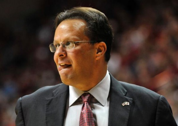 Tom Crean sits in the top coaching position in the Big Ten (AP).
