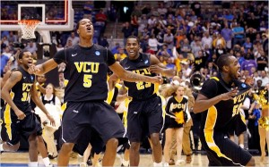 In 2011, VCU jumpstarted its thrilling Final Four in Dayton  by beating USC in the First Four (Reuters).