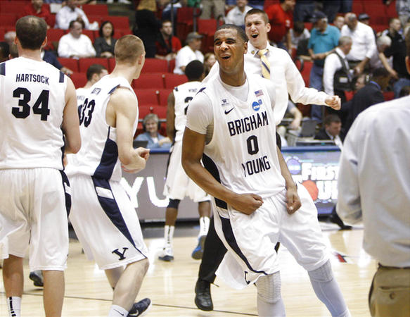Brandon Davies And BYU Rejoiced After Their Comeback Victory Over Iona In 2012's First Four, But They Were The Only Team Since 2007 To Slip Two Seed Lines As A Result Of Bracketing Issues Elsewhere