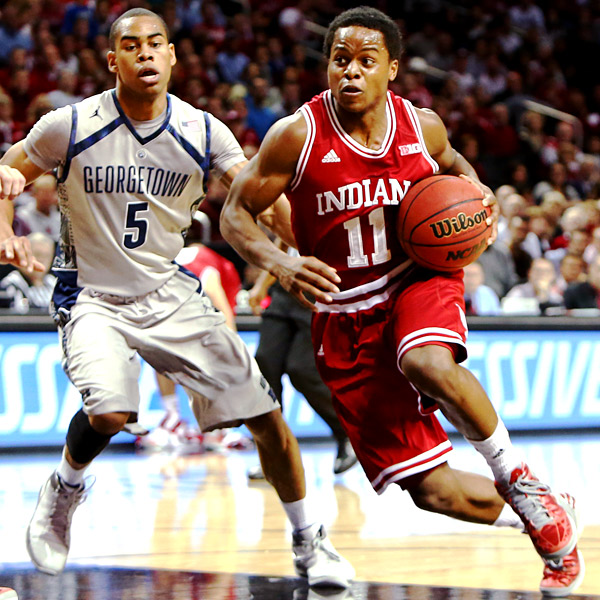 Yogi Ferrell will drive the Hoosiers' offense next season.