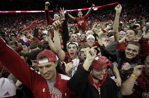 Few Schools Celebrate College Basketball As Well, Or Aggressively, As Wisconsin Does