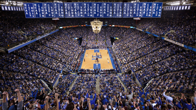 NIT Be Damned, Big Blue Nation Packed, On Average, 23,009 Strong Into Rupp Arena Last Season, Most In The Nation