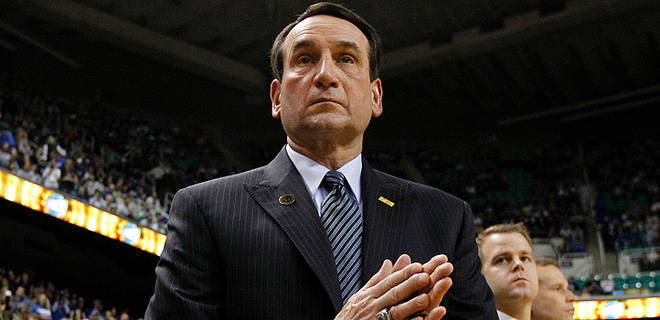 Coach K and Duke looks like the favorite heading into conference play. (AP)