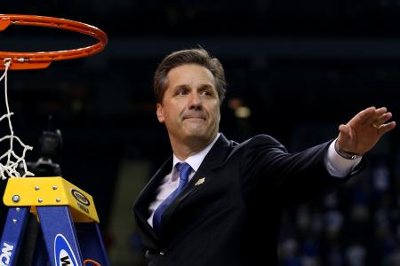 From national championships to alumni games, Calipari has no rival on the recruiting trail (Getty Images)