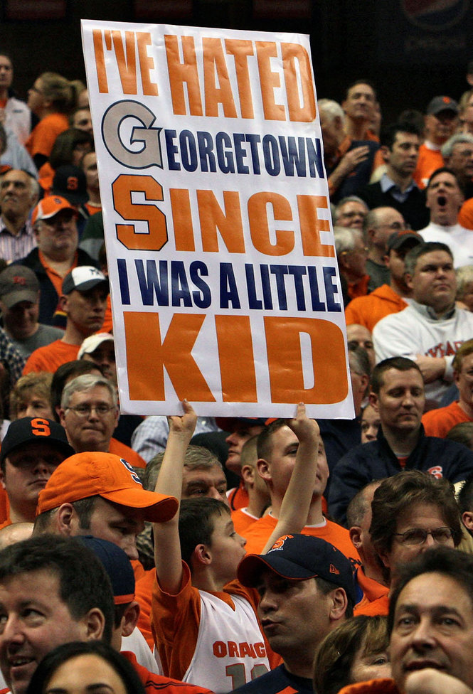 While Syracuse Bids Old Rival Georgetown Goodbye, Many New Rivalries Loom On The ACC's Horizon For The Orange