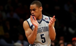 Georgetown's Markel Starks is one of six players that made the CBS Top 100. (Getty)