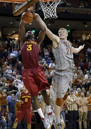 Iowa State will be without Melvin Ejim for at least one month following a knee injury. (AP)