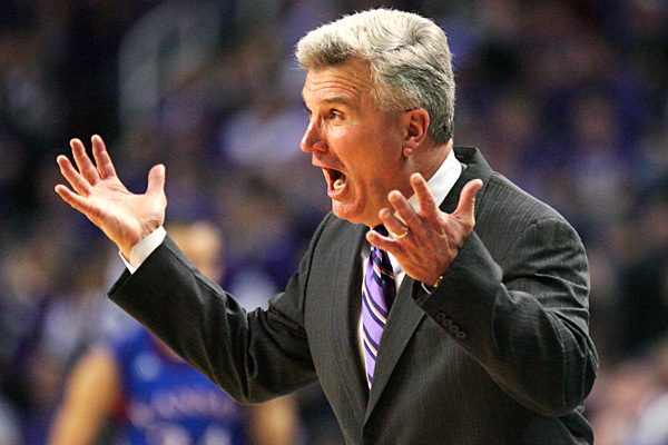 Bruce Weber Can't Be Happy Through Six Games This Season. (USA Today Sports/Scott Sewell)