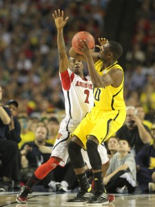 GoCards.com Russ Smith's defense helped Louisville win the national championship, but a rule change may force him to alter his style this season.