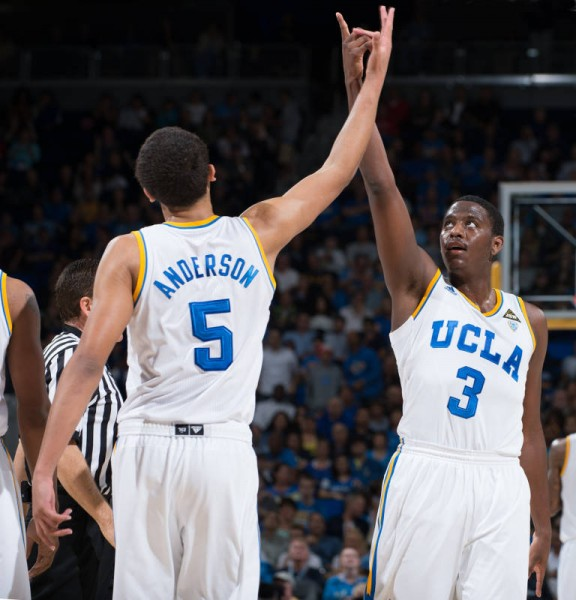 Big Things Are Expected From UCLA's Sophomore Duo Of Kyle Anderson and Jordan Adams (Don Liebig/ASUCLA Photography)