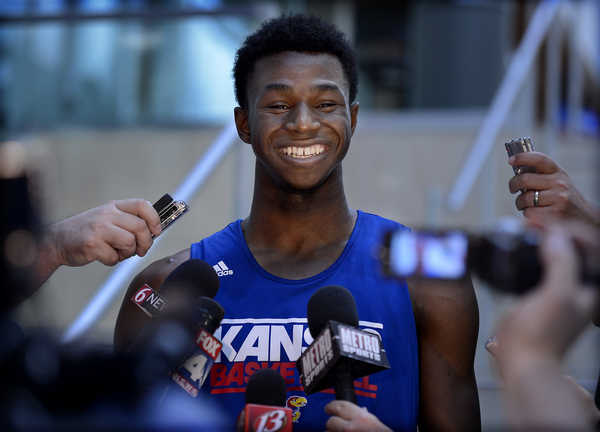 Andrew Wiggins Has A Lot Of Reasons To Be Smiling These Days.