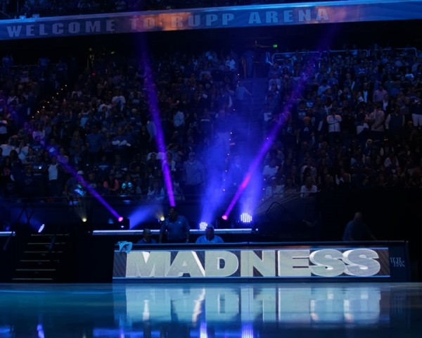 Big Blue Madness is Always a Sensory Extravaganza