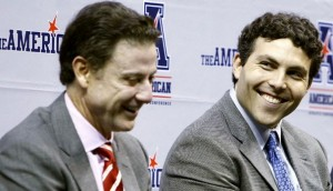 The Commercial Appeal Louisville coach Rick Pitino (left) and Memphis coach Josh Pastner announced Wednesday that their teams will continue playing after the Cardinals leave for the ACC next year.