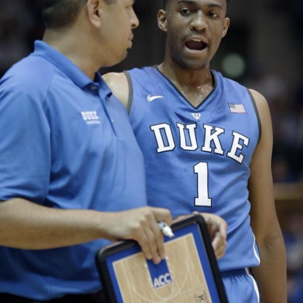 Jabari Parker Wowed Duke Fans at Countdown to Crazyness Friday Night