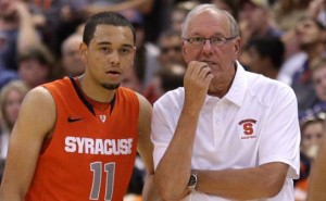 Coach Jim Boeheim And The Rest Of The Orange Will Lean Heavily On Tyler Ennis This Season