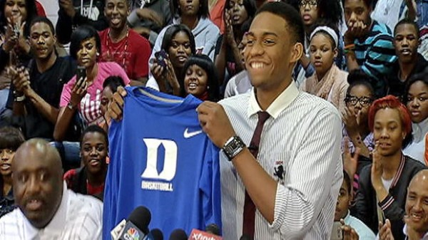 Very High Expectations Arrive With Parker at Duke