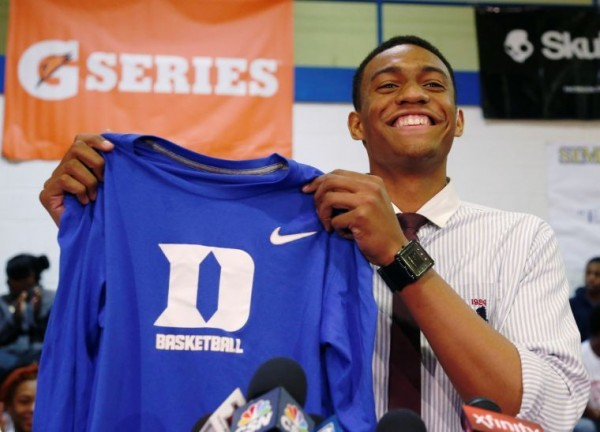 Jabari Parker Appears as Good as Advertised in Duke Blue