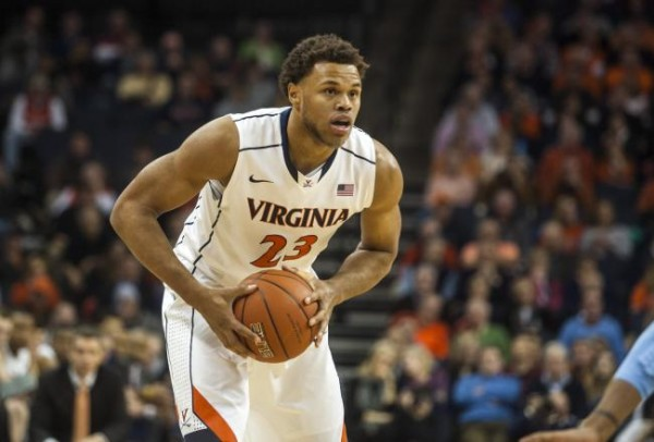 Anderson Returns to a Virginia Team With High Hopes