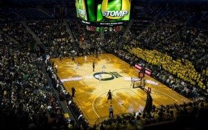Oregon's NBA-Like Arena Has Helped The Resurgence Of The Hoops Program (credit: Brian Feulner)