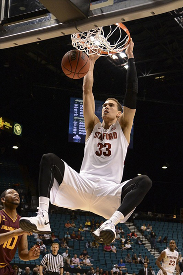 Dwight Powell Will Need To Be Physical Defensively And Explosive Offensively For the Cardinal To Advance (USA Today Sports)