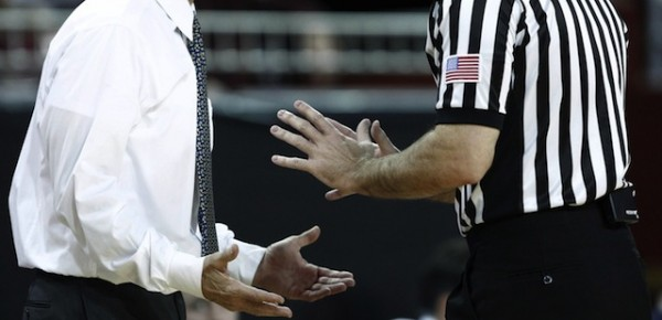 Pac-12 Basketball Officials Had Their Day In the Spotlight on Thursday; May They Never Have Another One (USATSI)