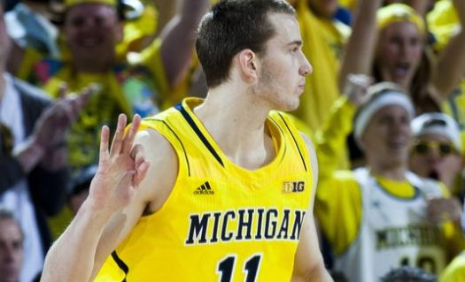 Nik Stauskas (Left) should be able to handle point guard duties until Derrick Walton is ready. (USA TODAY Sports)