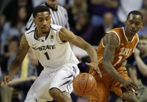 After sharing the regular season conference title with Kansas, the Wildcats are likely to regress, but how much? (AP Photo/Orlin Wagner)