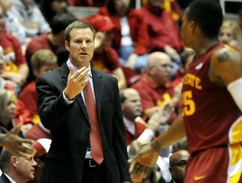 Fred Hoiberg still has alma mater undefeated entering league play. (Ames Tribune)