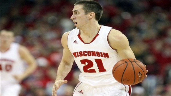 Josh Gasser is one of the best rebounding guards in the nation.