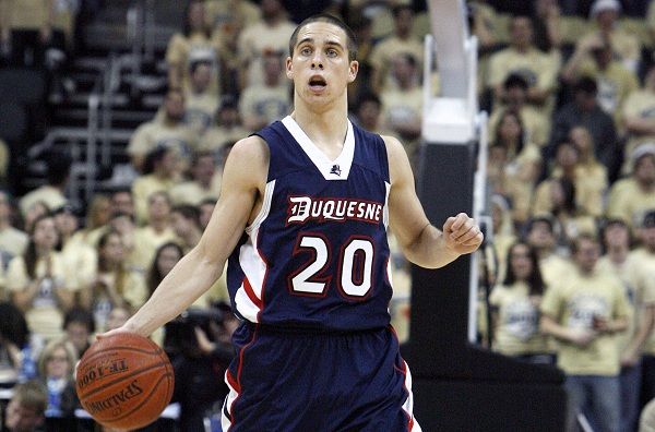 T.J. McConnell Has Had Success At Duquesne, But Can He Help Arizona Become A National Title Contender (Charles LeClaire - US Presswire)