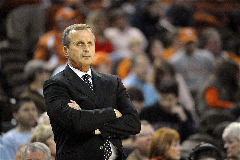 A disappointing 2012-2013 season leaves Rick Barnes looking for answers (Credit: The Big Lead)