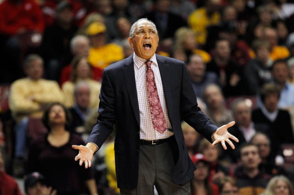 Somebody should have told Tubby Smith who they'd be playing before he took the Tech job. (Genevieve Ross/AP Photo)