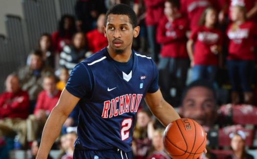 Cedrick Lindsay and Richmond will benefit greatly from Belmont's huge upset over North Carolina. (Richmond athletics)