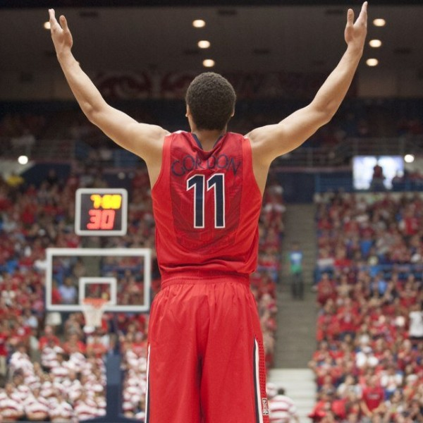 Arizona's Aaron Gordon Was A Unanimous Freshman Of The Year Selection
