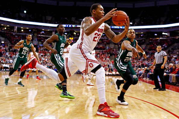 Amir Williams needs to take advantage of Wisconsin's shaky post defense on Saturday. (Kirk Irwin, Getty).