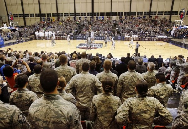 The Armed Forces Classic Tips Things Off in Earnest Tonight