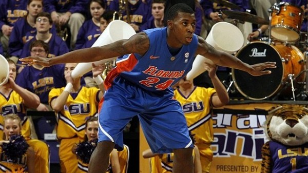 Casey Prather's perimeter defense is helping Florida become dominant on the defensive end of the court. (Photo by Stacy Revere/Getty Images)