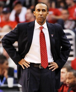 Is Johnny Dawkins The Pac's Best Coach? No, Silly, But He's Sure Consistent (credit: Harry How)