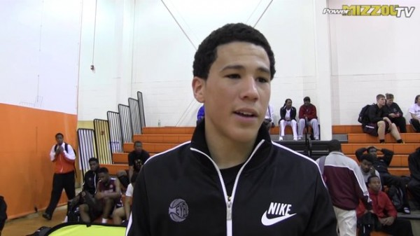 Devin Booker gives Kentucky a smooth shooting guard for next season.