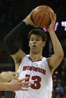 Duje Dukan came out of nowhere to help Wisconsin beat St. John's on Friday night.