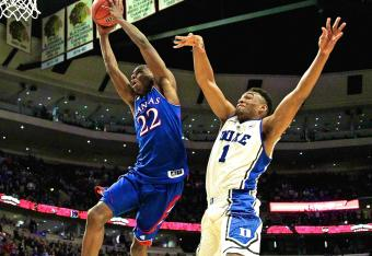 Duke could not stop Kansas down the stretch. (Photo: Getty images)