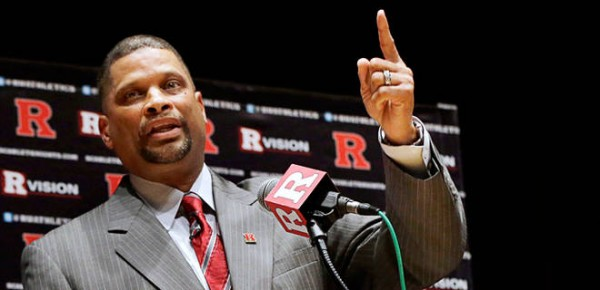 Eddie Jordan Takes Over a Tumultuous Program at Rutgers